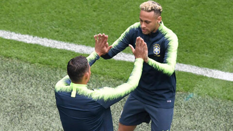 Thiago Silva reveals row with Neymar: He insulted me when I returned a ball to Costa Rica