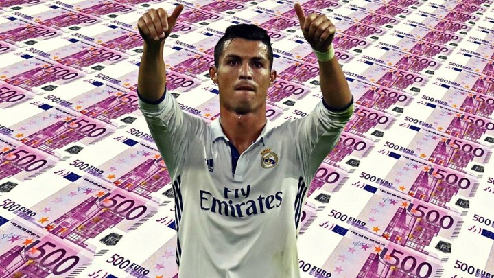 The Cristiano Ronaldo 'brand' is worth 160 million euro