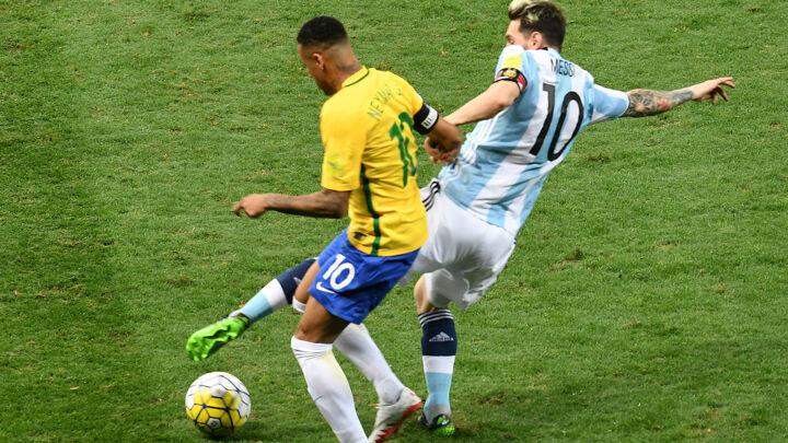 Neymar extends incredible Brazil run against Argentina
