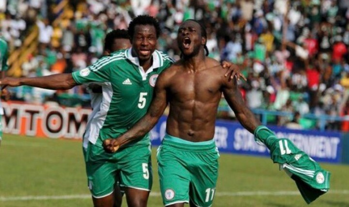 Chelsea Player's Victor Moses and John Obi Mikel seal win for Nigeria