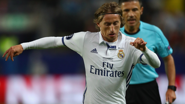 Modric: I'm ready for the Madrid derby!