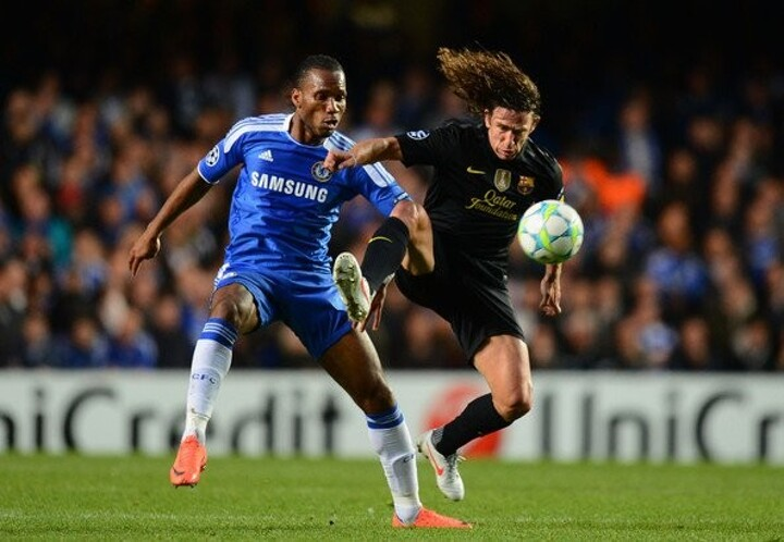 Puyol picks Chelsea legend Didier Drogba in the toughest XI he faced