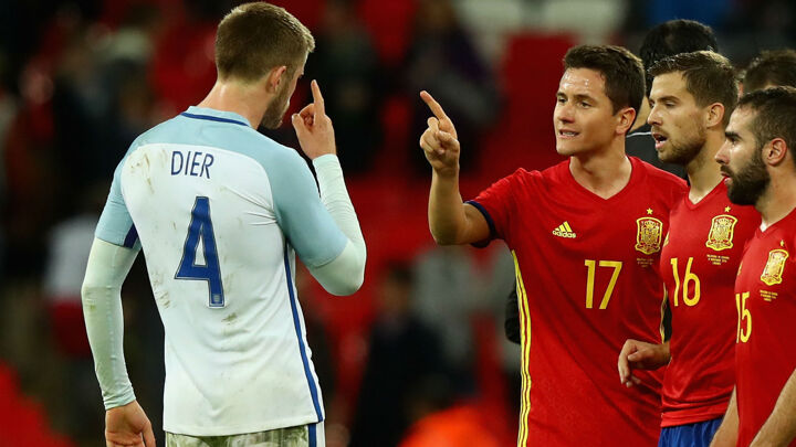 Dier hits out at 'ridiculous' Herrera elbow