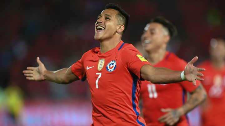 Alexis Sanchez among best in the world