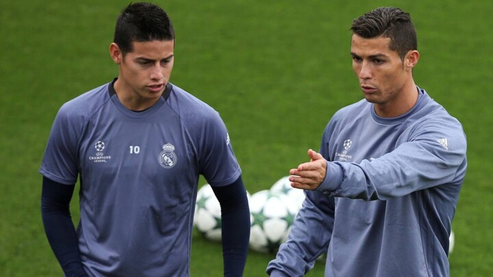 Asprilla Say's Cristiano Ronaldo is a bad influence on James Rodriguez