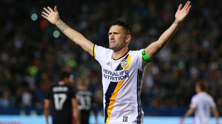Keane joins Gerrard in leaving LA Galaxy