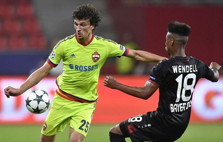 CSKA Moscow midfielder Roman Eremenko handed two-year ban for failed drugs test