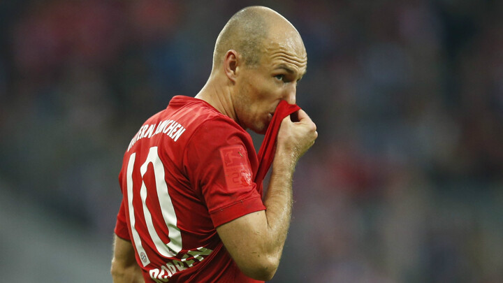 Robben, Martinez and Coman ruled out of Dortmund clash
