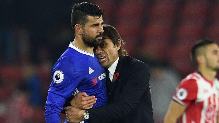 Conte: Costa one of the best strikers in the world
