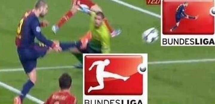 fun vote who is the bundesliga logo man pique or muller all football all football