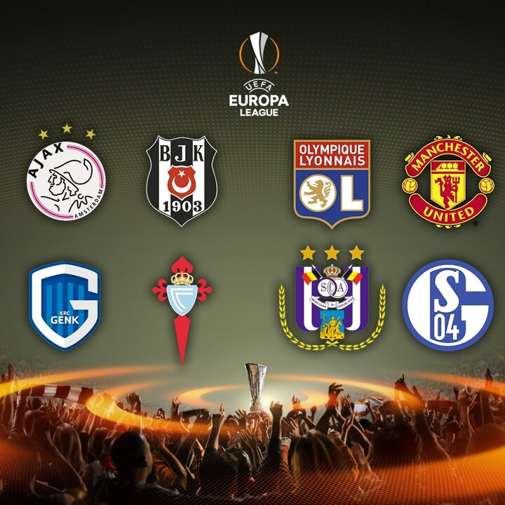Introducing the UEL quarter-finalists: Man Utd and Schalke are among them