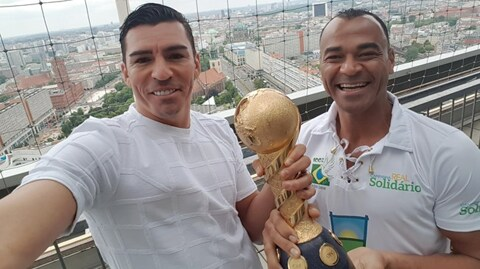 #Legends Cafu and Lucio weigh up Germany's Confeds chances