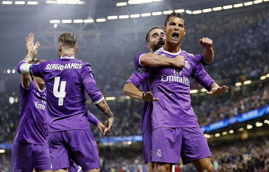 Juventus 1 4 Real Madrid Ronaldo Star Man Crowned Beat