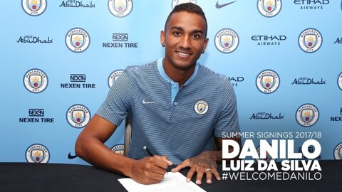 OFFICIAL: Manchester City sign Real Madrid full-back Danilo on 5-year deal