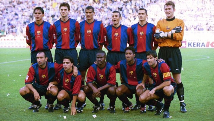 5b78097d Barca set to wear a special edition version of 98-99 kit for Saturday's  Clasico| All Football