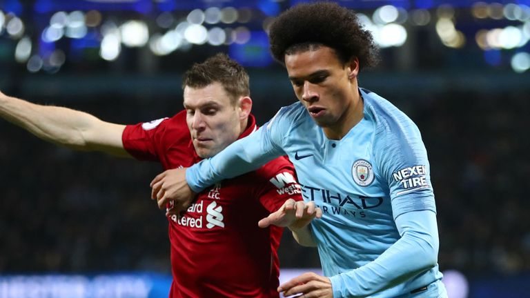 man city and liverpool handed contrasting run-ins