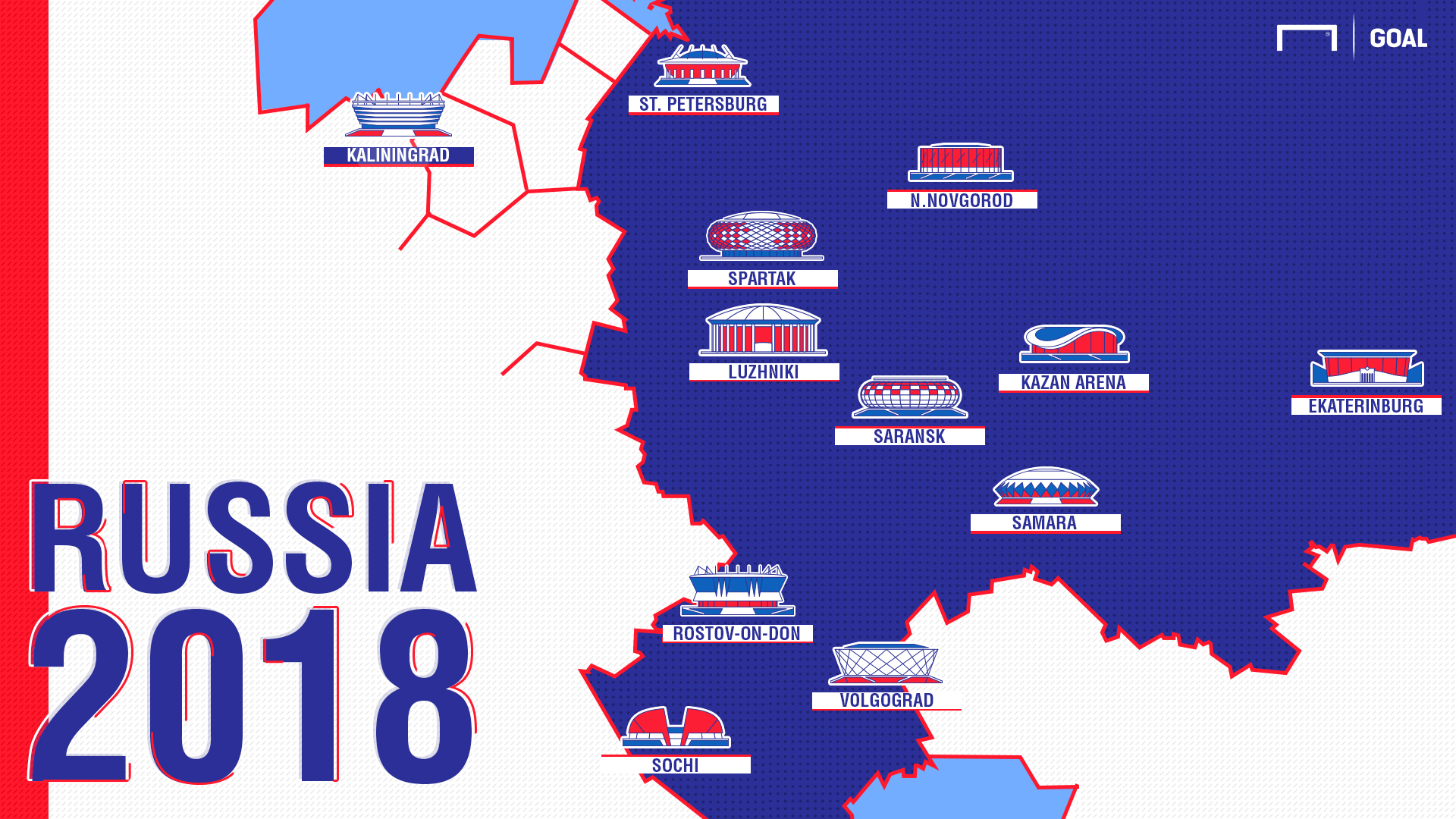 Russia 2018 host cities: Moscow, St Petersburg & the 12 ...
