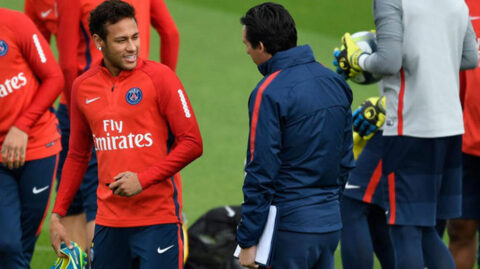 Emery and Neymar met before the club's UCL tie to clarify their increasingly public issues
