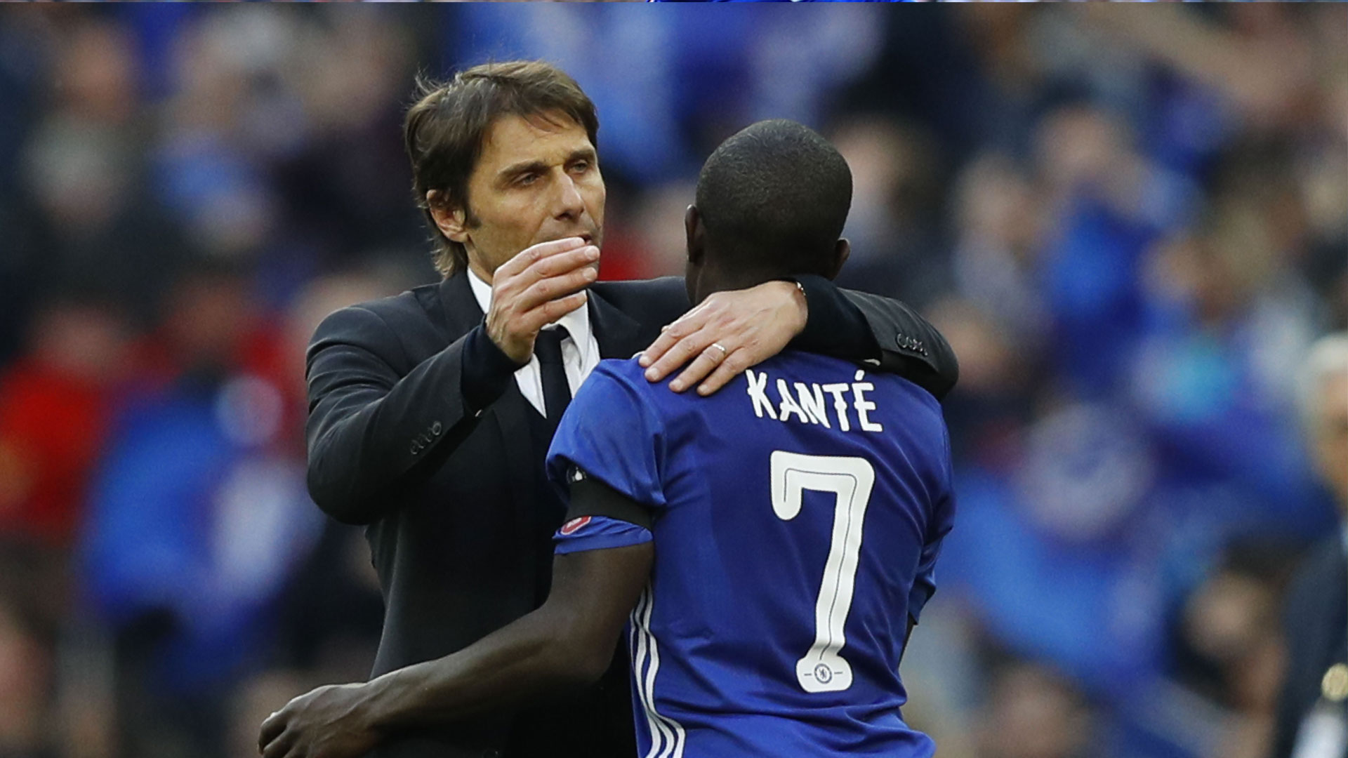 Conte: Kante is one of the best players I have had in my career as ...